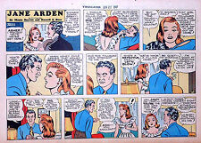 Jane Arden by Barrett & Ross - large half-page color Sunday comic, June 22, 1947