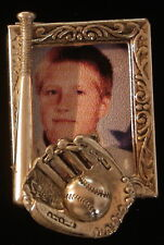 Baseball Softball Playball Sport Photo Pin Brooch