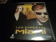 """COFFRET 6 DVD NEUF """"LES EXPERTS A MIAMI - SAISON 3"""""""