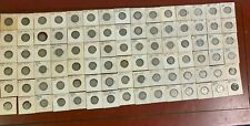 Lot of (90)  Canadian Silver Quarters From 1910-1963 Years from old collection
