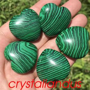 5pcs Natural kambaba jasper heart quartz crystal pendant carved healing