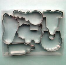 Baby Shower Cookie Cutter Biscuit Set Fondant Pastry Candy Steel Baking mold