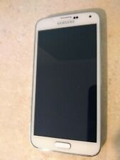 Samsung Galaxy S5 White SM-G900A (AT&T) 16GB Unlocked 4G Android 9/10 US
