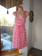 Strawberry Lightweight Gathered Waist Dress from ELLE, New with tags,Size UK14,