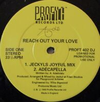 """ADE - Reach Out Your Love ~ 12"""" Single PROMO"""