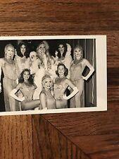 Sahara Hotel Casino Sahara Girls Posing In Show Costume B/W Photograph