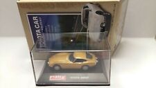 1:72 Scale Toyota 2000GT 1967 gold Diecast Car REAL-X Collection toyota