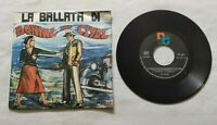 "LE ANIME 7"" LA BALLATA DI BONNIE AND CLYDE 45 GIRI ITALY 1968 RT CLUB 1556 NM/EX"
