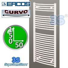 3S SCALDASALVIETTE TERMOARREDO DA BAGNO CURVO BIANCO ERCOS 150x50 cm PER CALDAIA