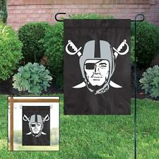 "Oakland Raiders 10""x15"" NFL Licensed Window / Garden Flag - Free Shipping"