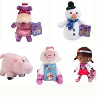 Disney Doc McStuffins Dragon Chilly Snowman Hallie Hippo Lambie Plush Toy Doll