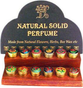 Natural Indien Parfumcreme Rose Patchouli Amber Lotus Opium Vanilla Jasmine