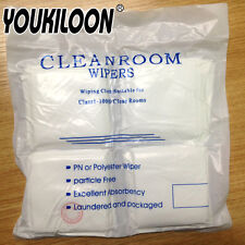 200pcs/Pack Cleanroom Wipers Polyester Anti-Static Particle Free Wiping Cloth