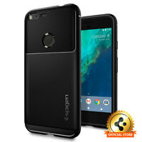 Spigen® [Rugged Armor] Google Pixel XL Case Exact Fit TPU Case Shockproof Cover