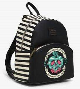 Loungefly Disney Snow White & The Seven Dwarfs Poison Apple Mini Backpack Bag