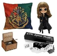 Harry Potter Lot Collection Cushion Pillow Card Game Music Box & Figure