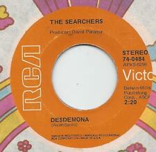 "THE SEARCHERS on RCA - ""DESDEMONA"" / ""THE WORLD IS WAITING FOR TOMORROW"" [VG++]"