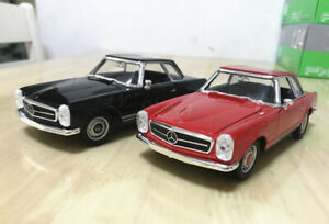 WELLY 1:24 Scale Alloy Static Car Model For Mercedes-Benz 230SL (1963) no box