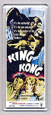KING KONG movie poster WIDE FRIDGE MAGNET - 1933 CLASSIC! Style 'B'