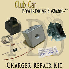 Club Car PowerDrive 3 #26560 48 Volt Golf Cart Battery Charger Repair Kit