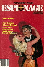 ESPIONAGE Magazine. Volume 1, Number 1. December 1984  Premiere Issue!