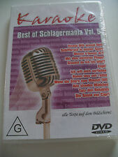 "Karaoke-DVD "" Best of Schlagermania Vol.5"" (Text,Song,Hit,Singen-Party,Fete)-OVP"