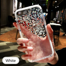 Hybrid Shockproof Clear Diamond Soft Silicone Case Cover For iPhone X 7 Plus 8 6