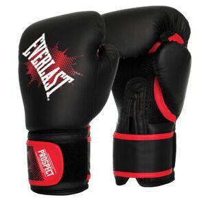 Everlast Prospect 8oz Junior Boxing Gloves In Black
