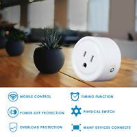 US Wifi Smart Plug Remote Control Socket Outlet Amazon Alexa Google Assistant