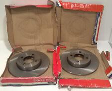 2x UNIPART GBD683 FRONT SOLID BRAKE DISCS VW GOLF MK3, PASSAT MK3, SEAT INCA VAN