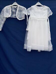 MONSOON WEDDING PARTY Holy Communion Dress JACKET FLOWER GIRL GIRLS AGE 9 YEARS