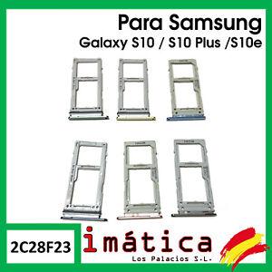 BANDEJA SIM SAMSUNG GALAXY S10 / PLUS / S10E ADAPTADOR TARJETA MICRO SD G970 975