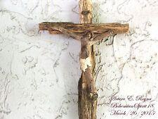 Artist Arturo E.Reyna ~CHRIST~ MIRACLE OF NATURE WEATHERED WOOD WALL CRUCIFIX