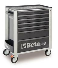 Beta Tools C24S7/G Mobile Roller Cabinet Tool Box 7 Drawer Roll Cab Grey Rollcab