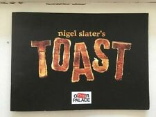 More details for nigel slater's toast theatre programme