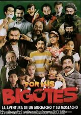 Por mis bigotes (2015) DVD  Comedia,familia  Jesus Ochoa  Espanol-NEW