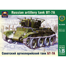 BT-7A Soviet Tank Model Kit 1/35 Scale - Russian Tank BT7A Military Models Kits