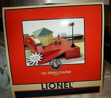Lionel 6-12862 Operating Oil Drum Loader all parts included RUNS BEAUTIFULLY
