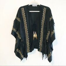 Turquoise Rodeo Horse Western Embellished Tee Tunique NWT $110 Women/'s S