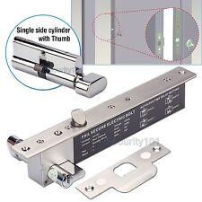 Electric Bolt Home Door Lock Autolock Time Delay NO Fail Secure w Key