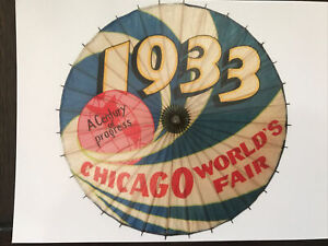 "POSTCARD 1933-34 CHICAGO WORLD'S FAIR  ""A CENTURY OF PROGRESS"""