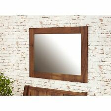 Linea solid walnut home furniture wall mirror