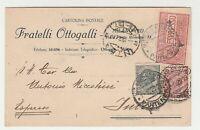 STORIA POSTALE - 1922 REGNO ESPRESSO 3 VALORI SU LETTERA MILANO E/1240