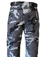 Camo Men's Motorcycle Motorbike Trousers Pants Waterproof Thermal Armoured Biker