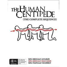 Human Centipede - The Complete Sequence ( 3 Disc Set , Blu ray , Region B ) NEW