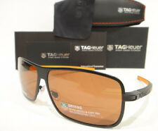 350791d44b Tag Heuer 0988 Sunglasses 988 Color 204 Black Orange HD Polarized Authentic  New