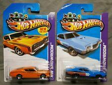 Hot Wheels 2013 HW Showroom ~ 69 Mercury Cyclone 50/247 & 72 Gran Torino 242/250
