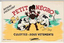 "BUVARD ""petit negro"" culottes- sous vetements"
