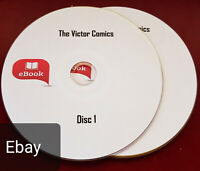 Victor comics over 390 issues on 2 Discs and CDisplay software for PC and more