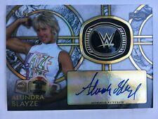 Alundra Blayze 2018 Topps WWE Legends Base Ring Auto #/99